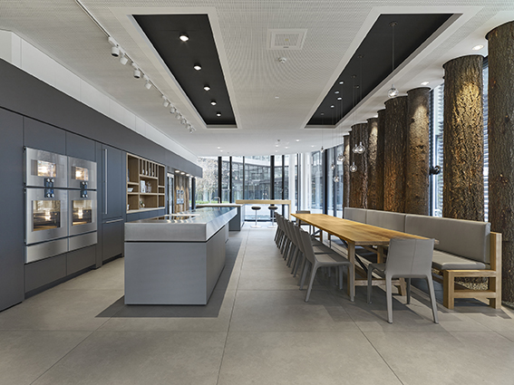 gaggenau showroom. Black Bedroom Furniture Sets. Home Design Ideas