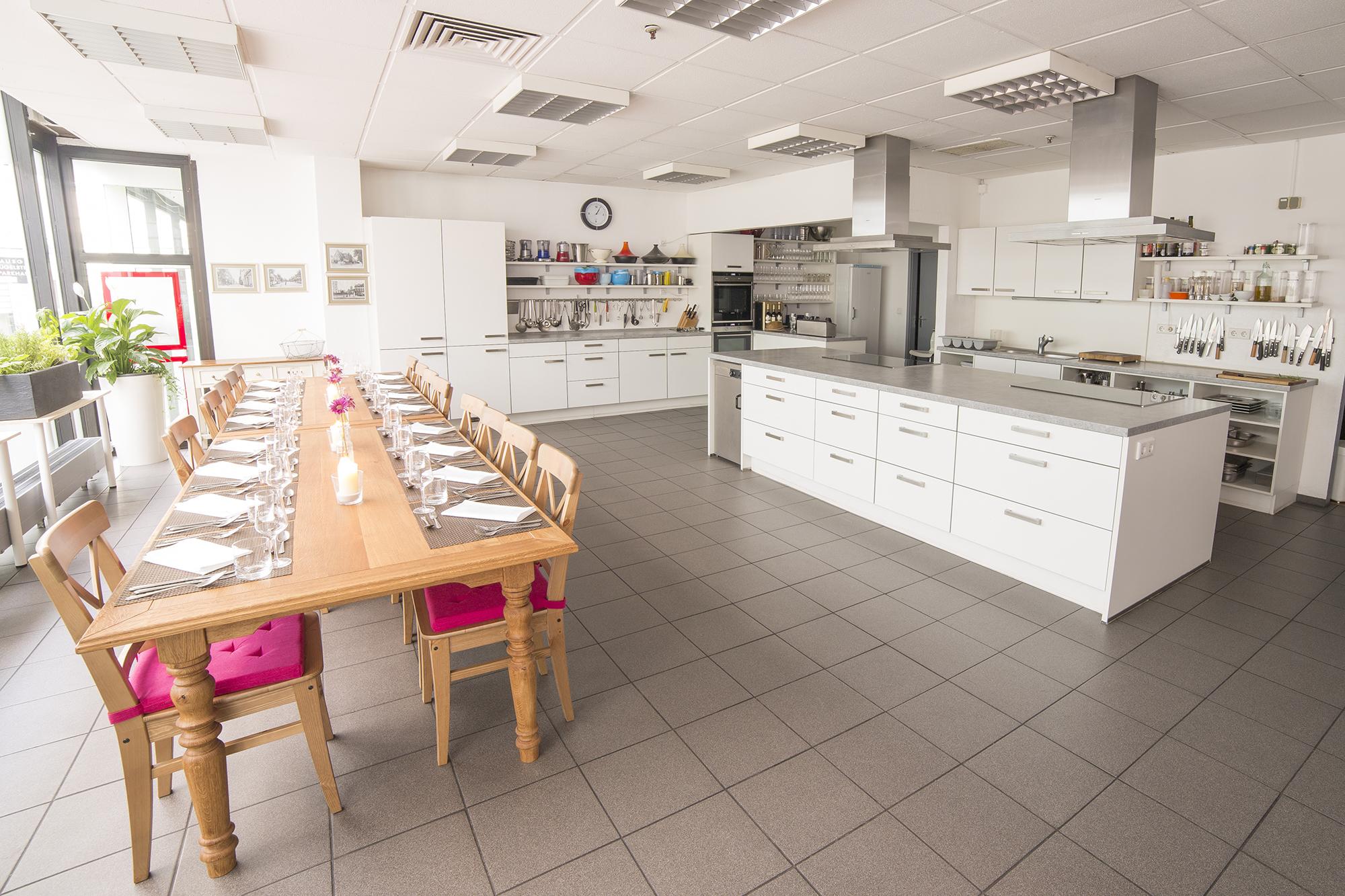 Kochkurse in der Kochschule Darmstadt